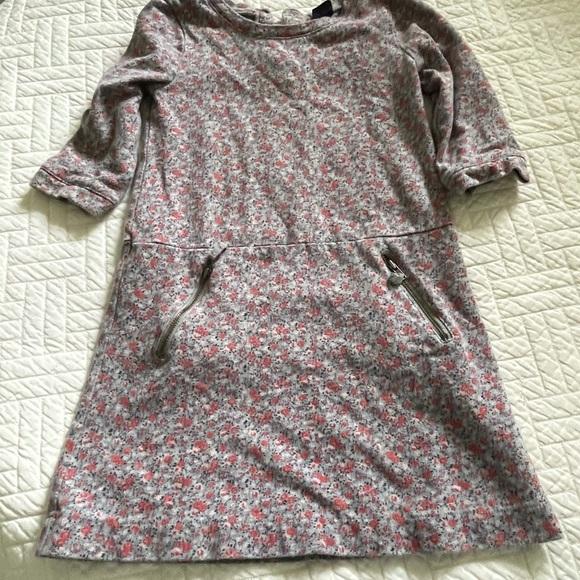 BabyGap toddler girls floral print dress.